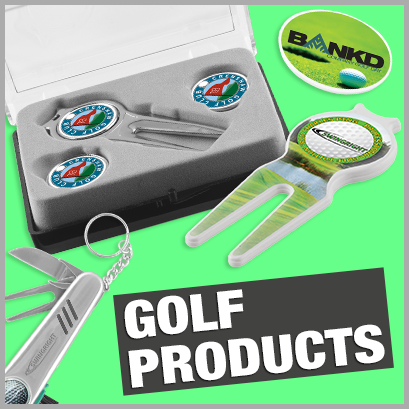 Golf Products personalised with print