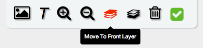 Move layer to front
